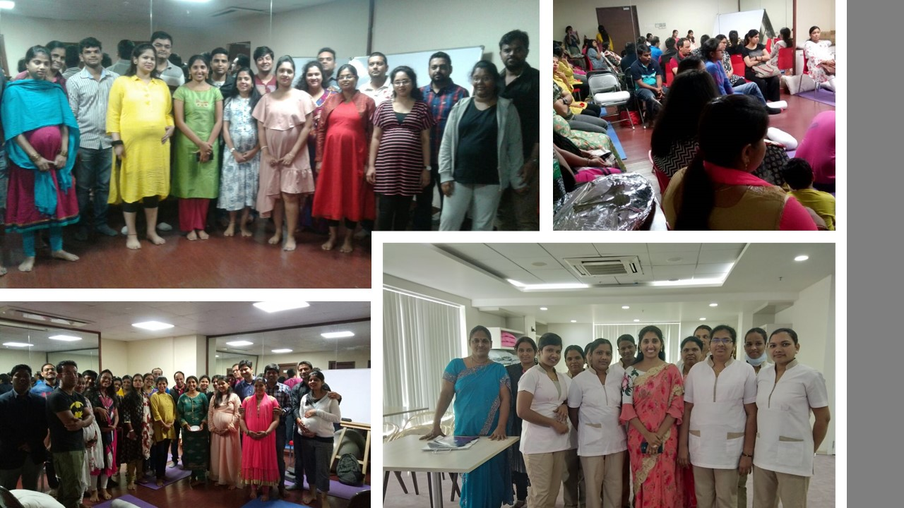 childbirth class group sessions